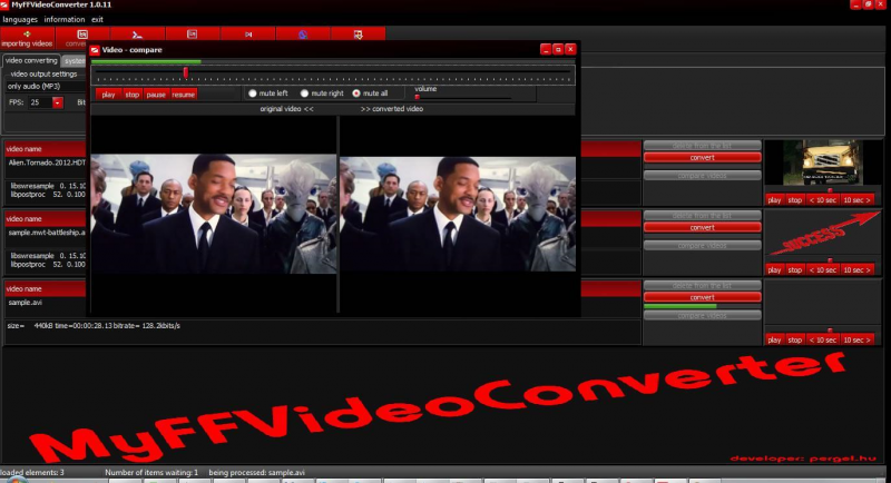Pomocí MyFFVideoConverter zvládnete převést video