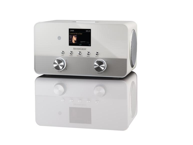 SILVERCREST® Stereo-Internetradio SIRD 14 B1