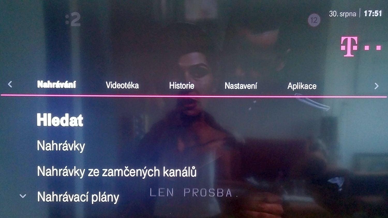 T-Mobile TV - Menu