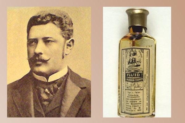 """Chorvatský lékárník, podnikatel a průkopník výroby průmyslových drog se proslavil svým """"zázračným"""" elixírem mládí s názvem Elsa-Fluid"""