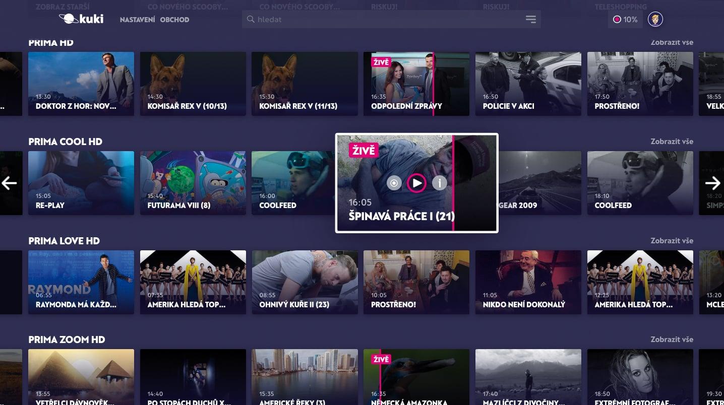 Chytrá televize Kuki (verze 2019)