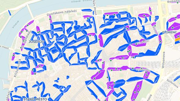 [aktualita] Praha zveřejňuje otevřená data o parkování v ulicích města