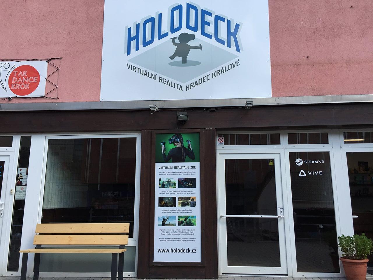 Holodeck, herna s virtuální realitou v Hradci Králové