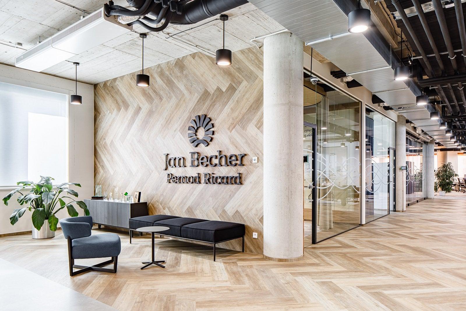 Jak to vypadá v nových kancelářích Becherovky