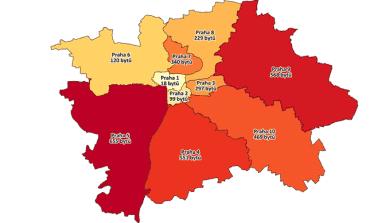 Nabídka nových bytů v Praze.