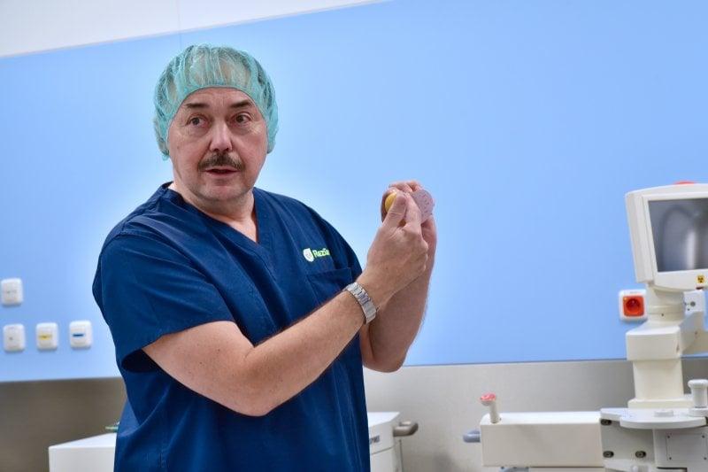 Léčba prostaty pomocí teplé páry