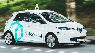 Lupa.cz: První robotické taxíky už vozí pasažéry