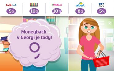 Věrnostní program Moneyback pro držizele karet České spořitelny. (14. 7. 2020)