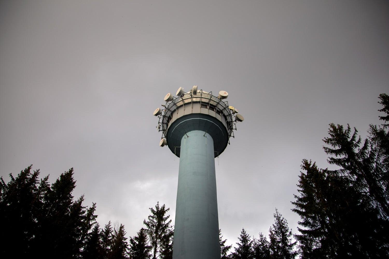 Na návštěvě radaru Skalky