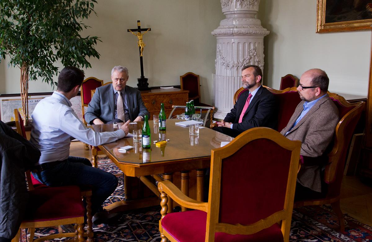Rozhovor s ekonomem arcibiskupství Karlem Štíchou