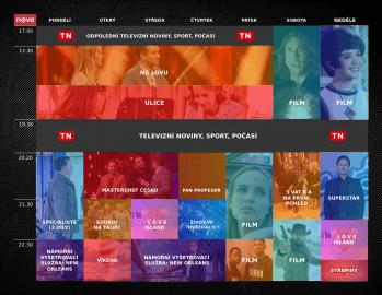 TV Nova na podzim 2021