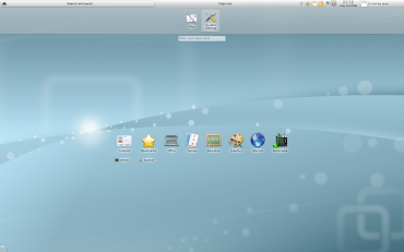 KDE 4.4 - Netbook
