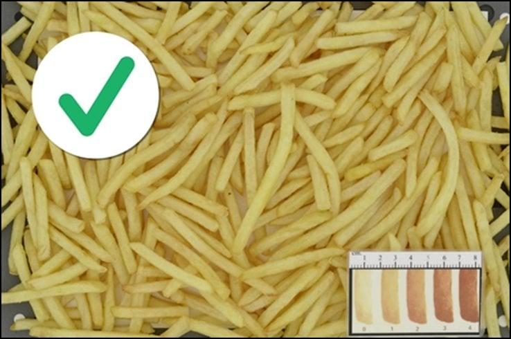 Jakou barvu mají zdravé hranolky?