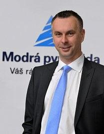 David Formánek, předseda představenstva a generální ředitel Modré pyramidy stavení spořitelny