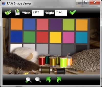 Pomocí RAW Image Viewer otevřete i upravíte fotografie ve formátu RAW