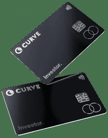Speciální edice platebních karet Curve pro investory. (09/2019)