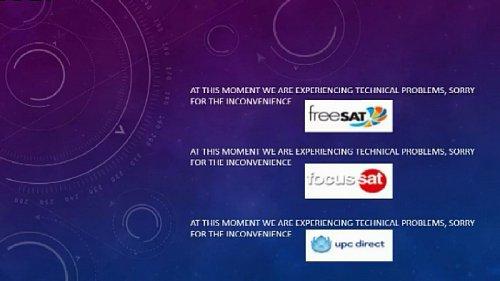 V satelitní službě freeSAT čekala ráno místo nového kanálu Arena Sport na obrazovce chybová hláška