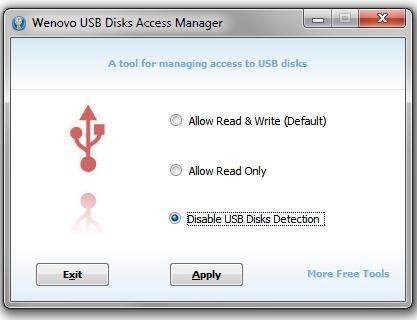 Pomocí USB Disks Access Manager snadno zablokujete flash disk