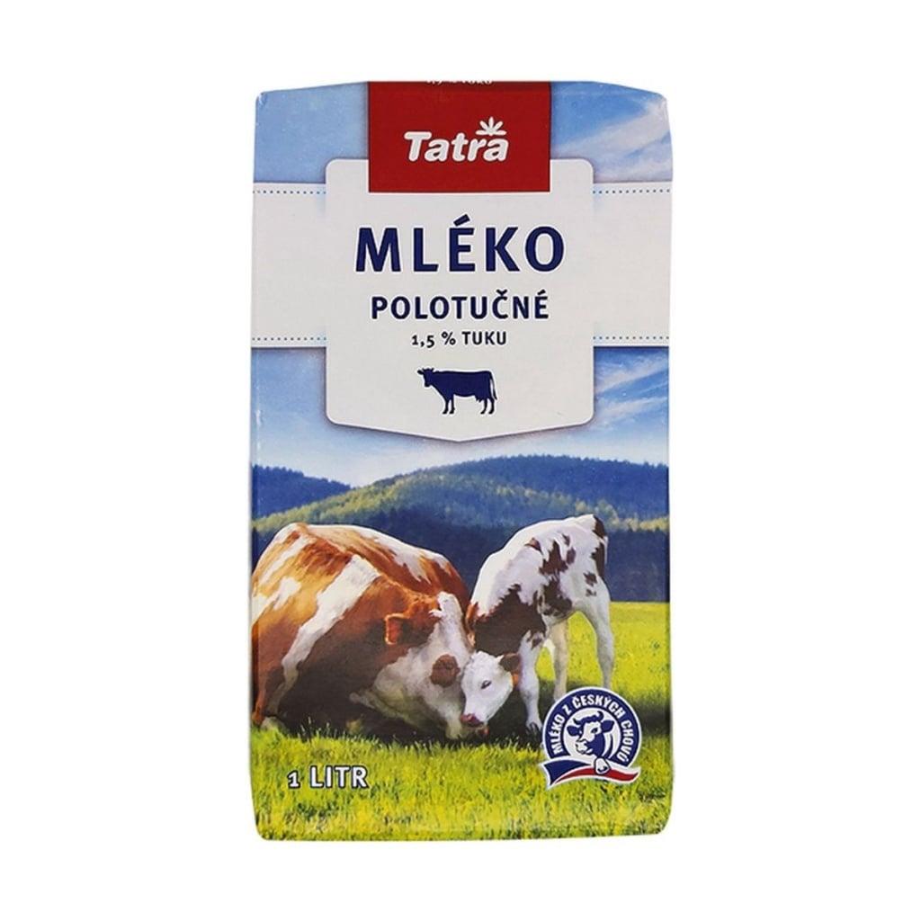 Test trvanlivého a čerstvého mléka