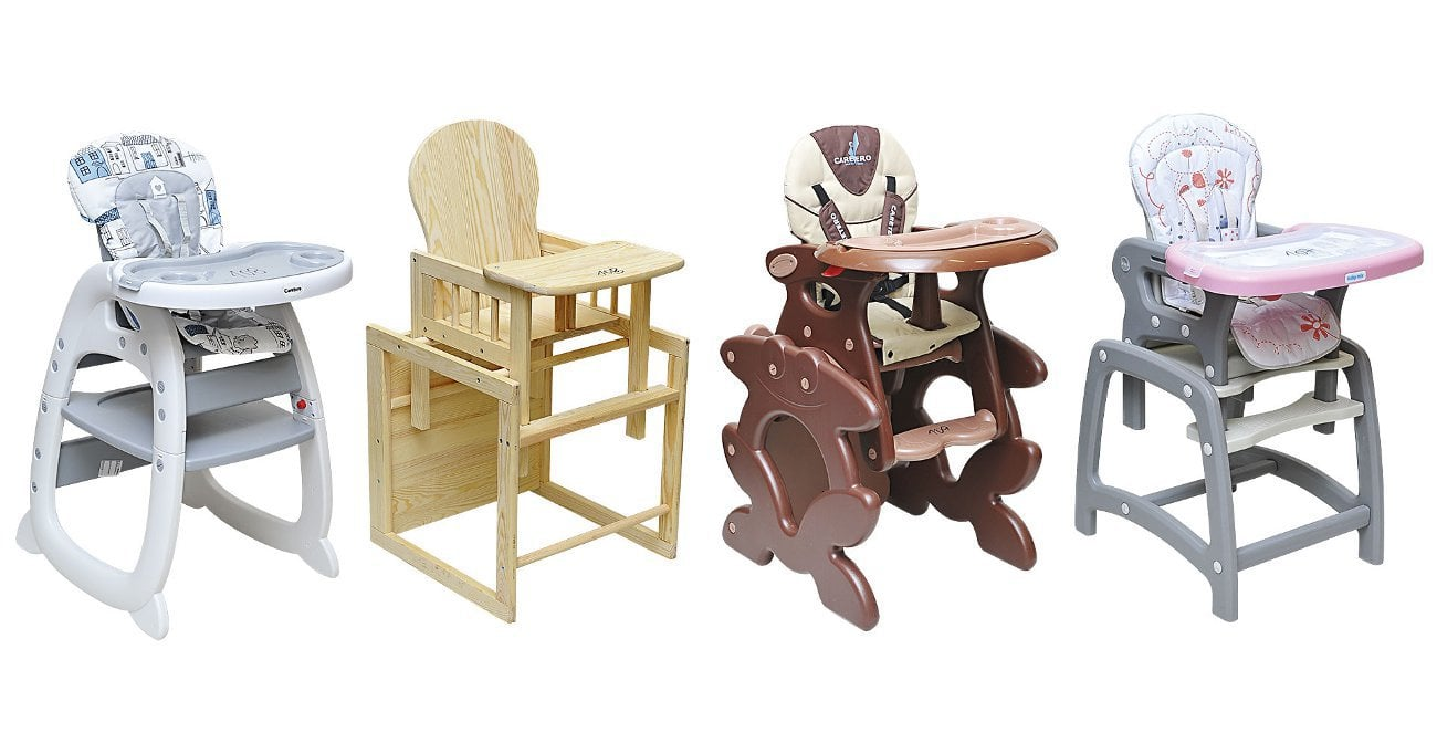 dTest: Nestabilní dětské židličky