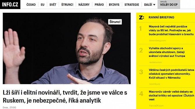 [aktualita] Weby Info.cz a Zdroj.cz se spojily do jedné firmy, budou fungovat mimo CNC