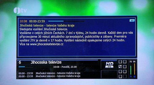 Příjem Jihočeské televize v Praze není ničím neobvyklým. Pravidelně je ji možné přijímat například ve čtvrti Bohnice.