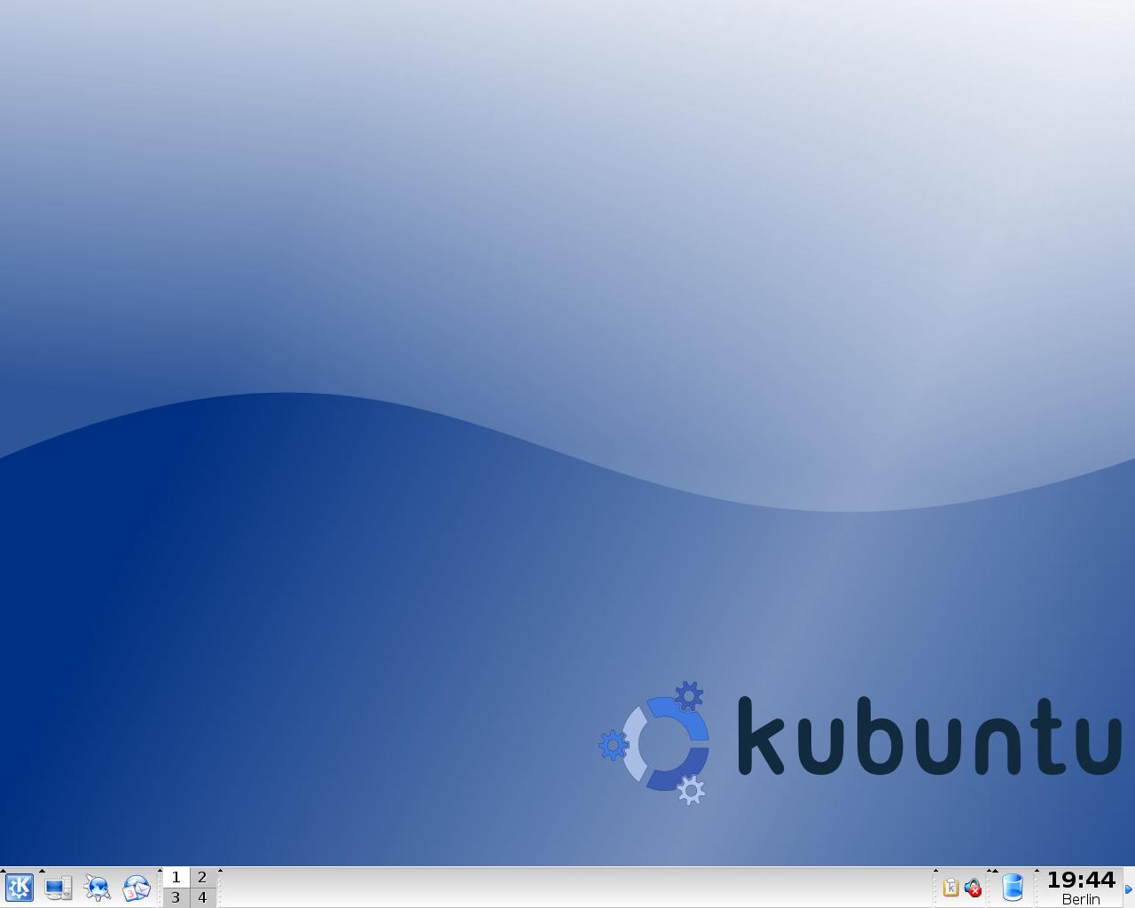 Kubuntu 5.04 (Hoary Hedgehog)