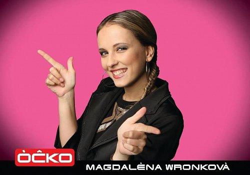 Magdaléna Wronková je novou posilou hudební televize Óčko.