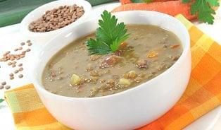 Čočková polévka– optimální zdroj přirozených cukrů