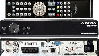 Ferguson Ariva 252 Combo:  inovační novinka s tunery DVB-S/S2 a DVB-T/T2