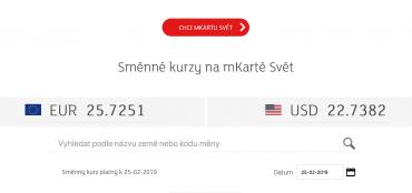 Mbank Se Meni Nova Debetni Karta Visa Se Pysni Nejlepsimi Kurzy