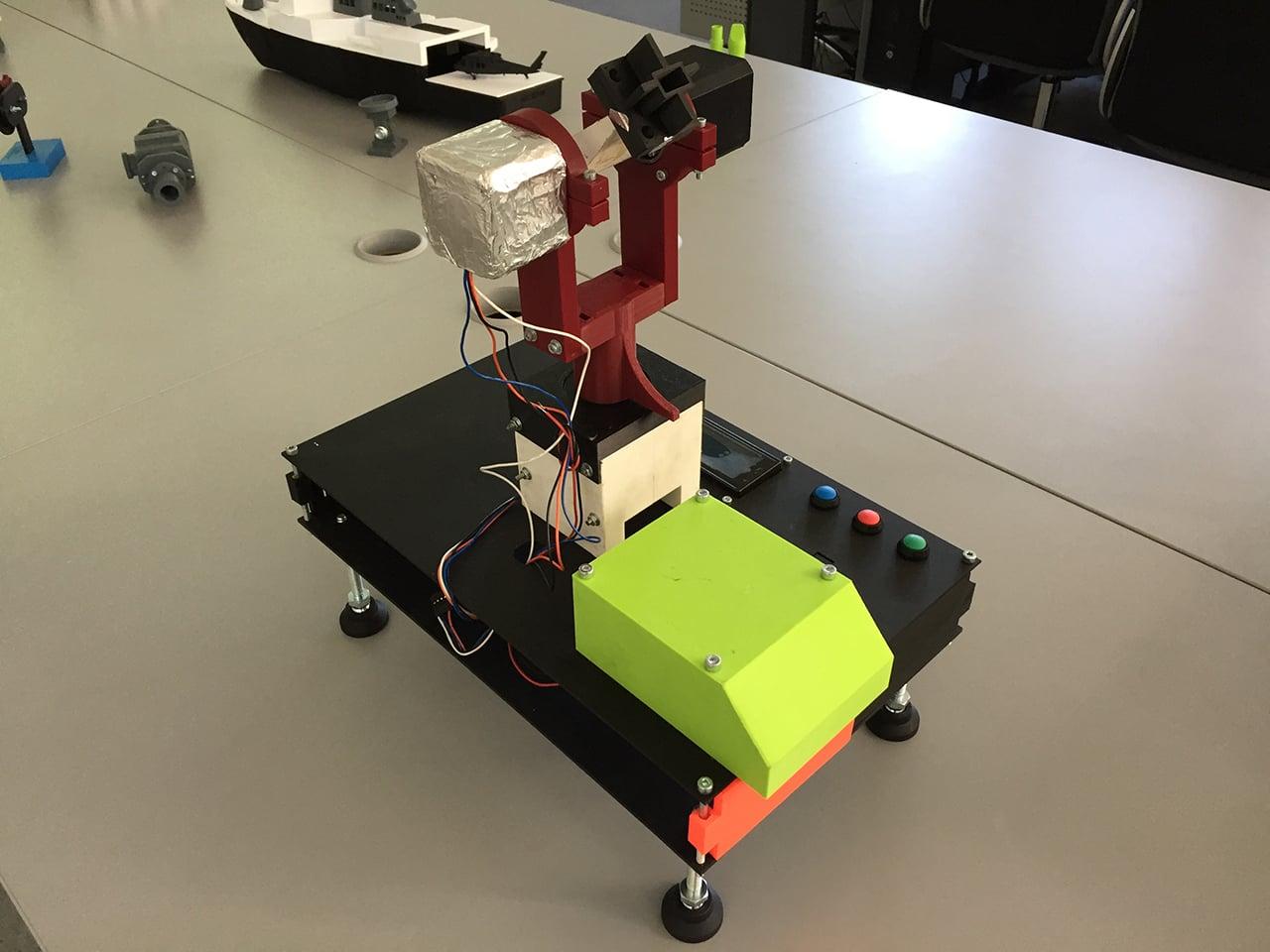 Učebna 3D tisku na Střední průmyslové škole na Proseku v Praze