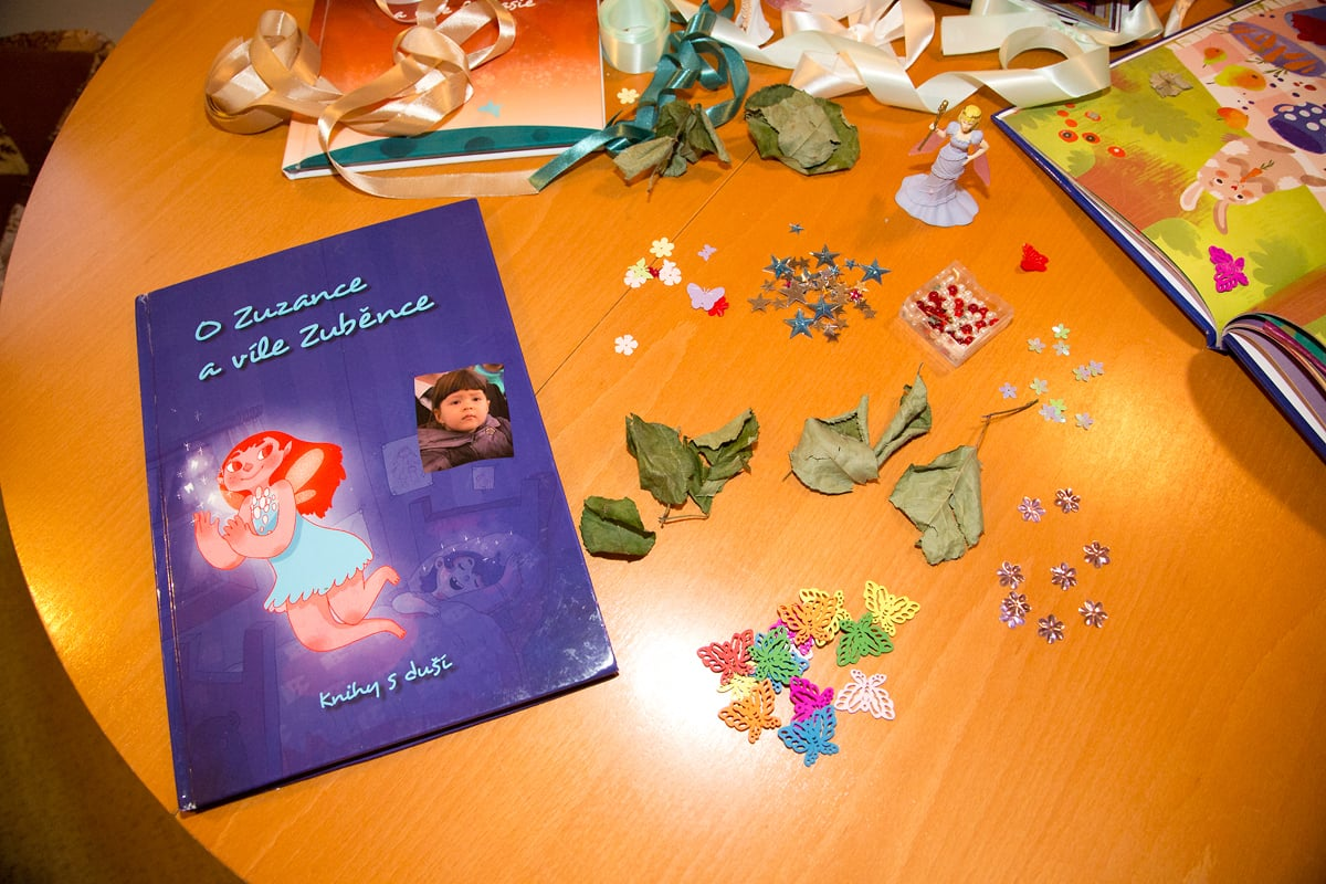 Hana Knopfová s Markétou Špundovou vytváří Knihy s duší.