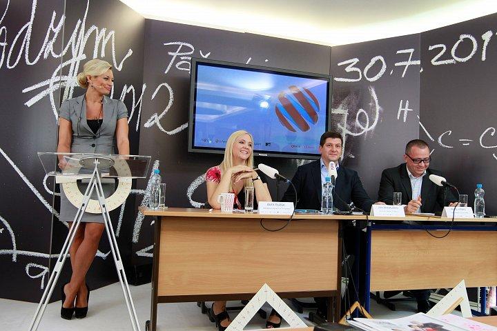 Tisková konference TV Nova k podzimnímu schématu 2012