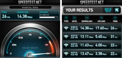 Změřte si rychlost internetu na svém iPhonu