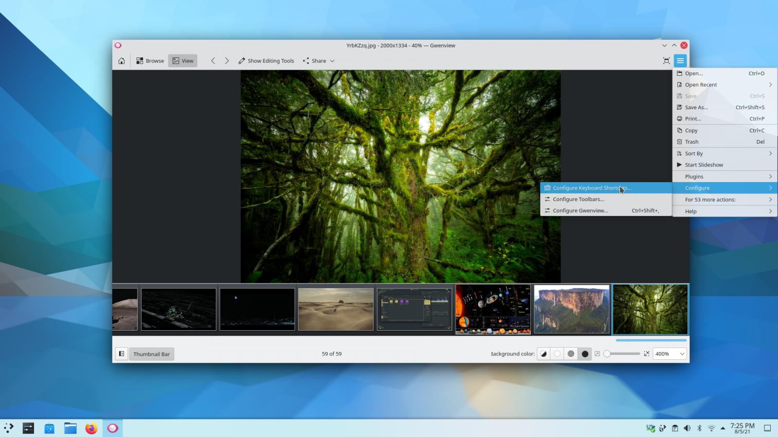 KDE Gear 21.08