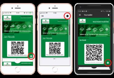 Digitální aplikace varuje pojištěnce Kooperativy před nepříznovým počasím. Data poskytuje Meteopress. (09/2021)