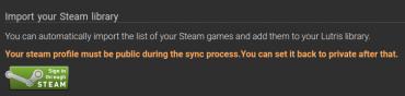 Import seznamu her ze Steamu