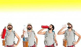 Vhorku pijte, ikdyž necítíte žízeň