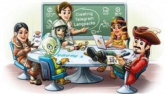 Telegram jazyky