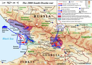 Operaci v Jižní Osetii předcházely systematické kybernetické útoky na informační portály.