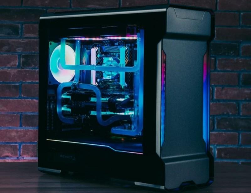 Počítačová skříň Phanteks Enthoo Evolv X Tempered Glass