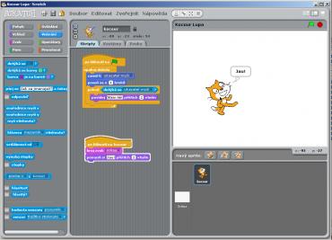 Scratch - programovací nástroj pro děti