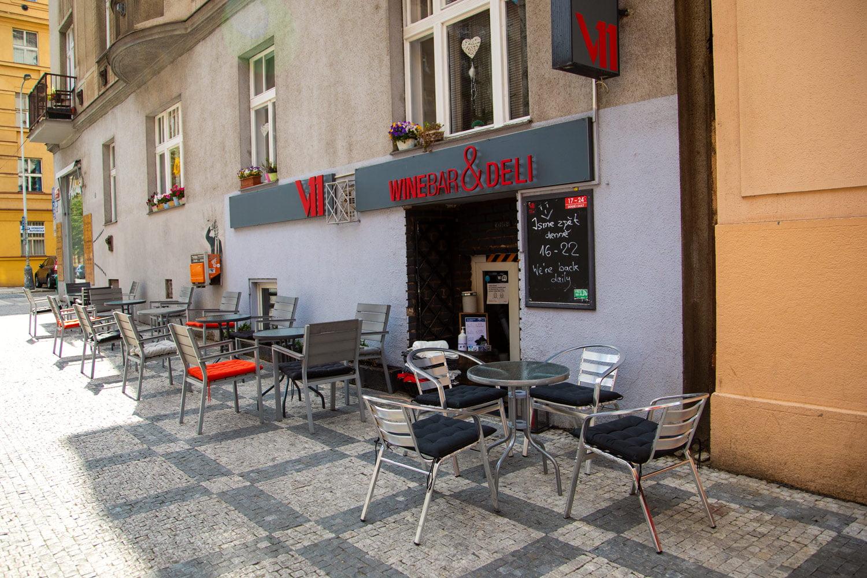 Znovuotevřené zahrádky restaurací