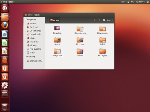 Výchozí pracovní plocha Ubuntu je prázdná a Windows se příliš nepodobá