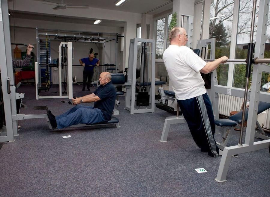 Kruhový trénink pro seniory