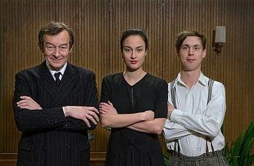 Kristýna Večeřová, Jiří Podzimek a Bohdan Bláhovec.