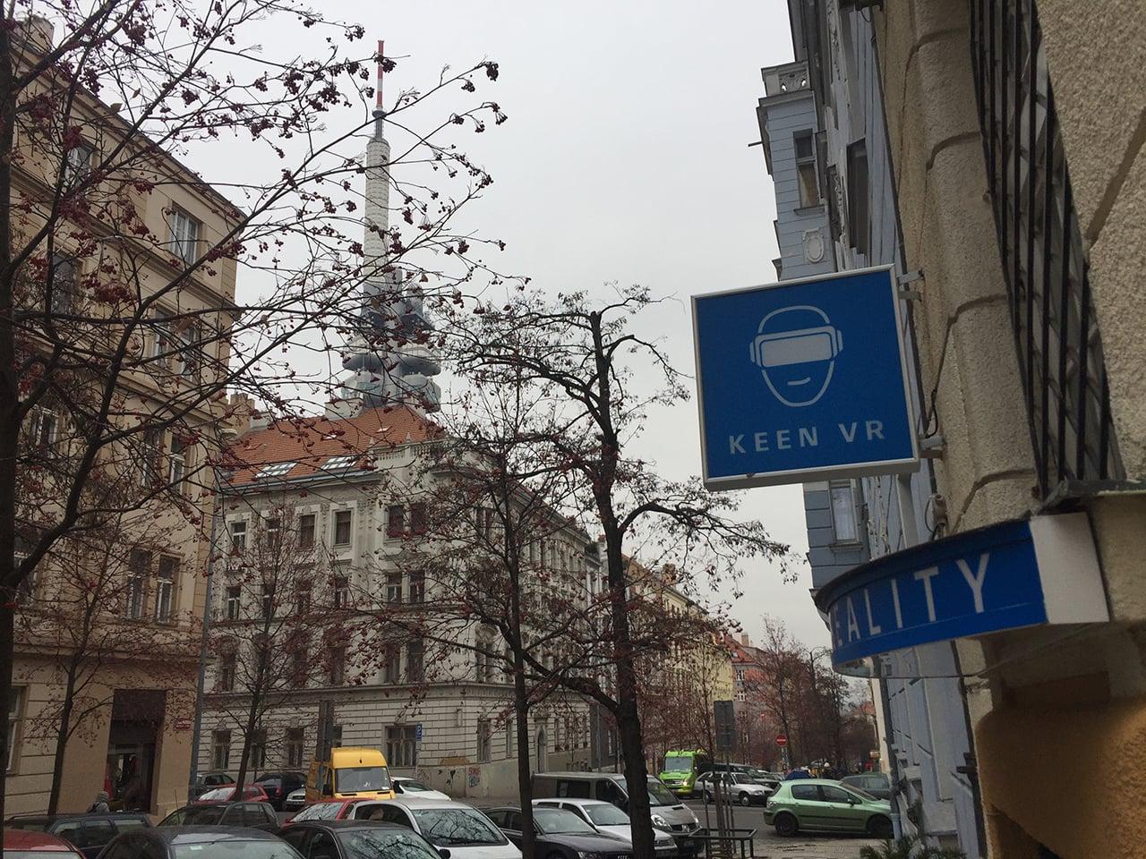 Keen VR podnik v Praze