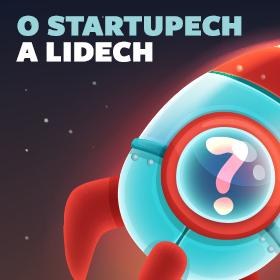 Logo O startupech a lidech