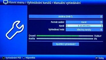 Digital Broadcasting - výpadek 24. kanálu.